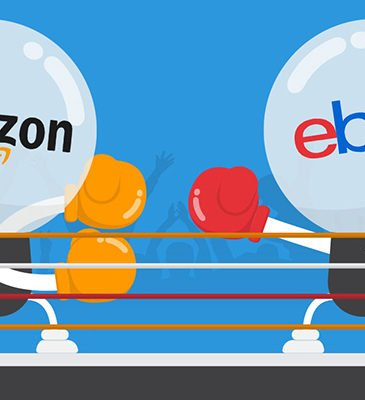 Main differences between ebay and amazon